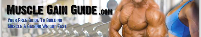 Muscle building and weight gain information